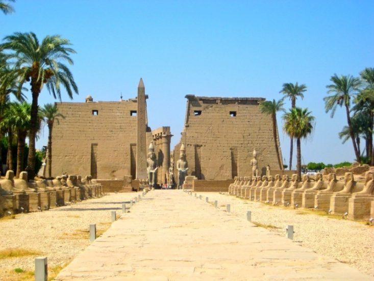 Храм Луксора в Египте