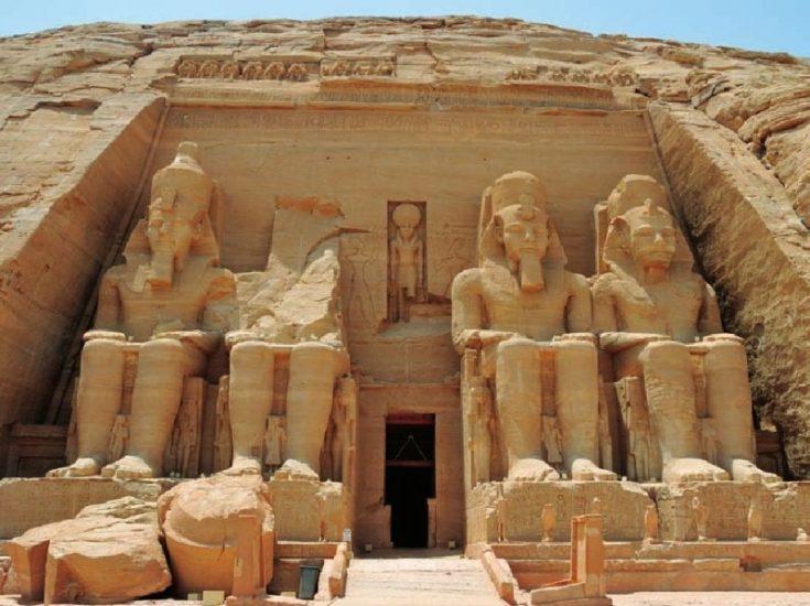 Храм Рамзеса второго в Египте