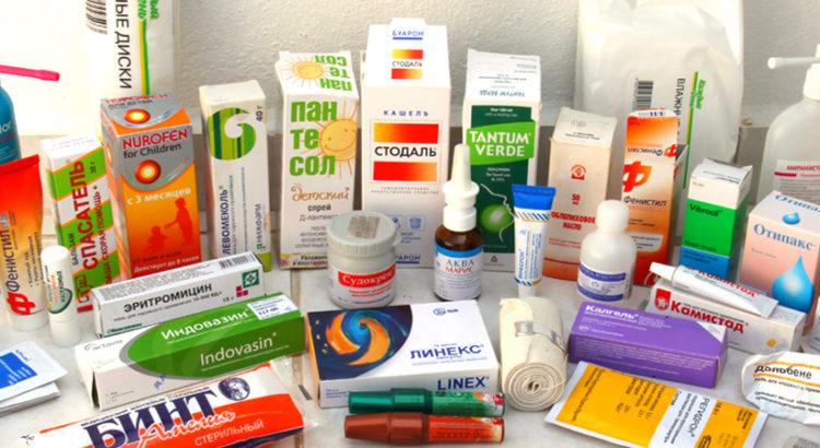 аптечка для путешествия