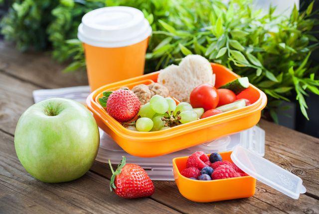 фрукты и овощи в дорогу
