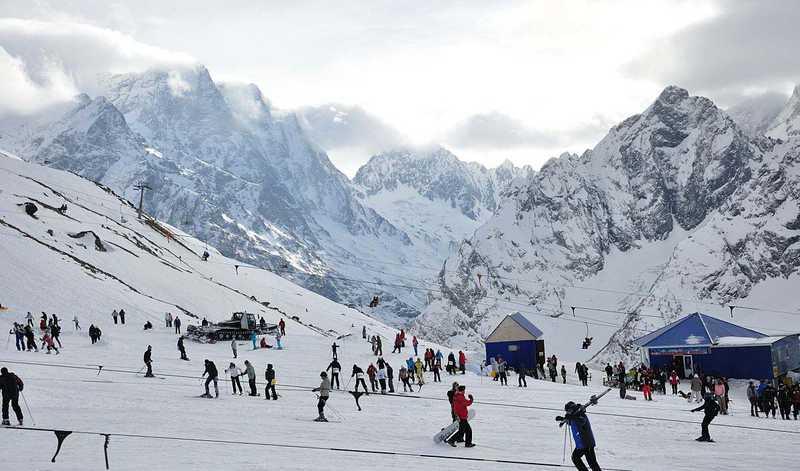 Лыжный курорт Северного Кавказа