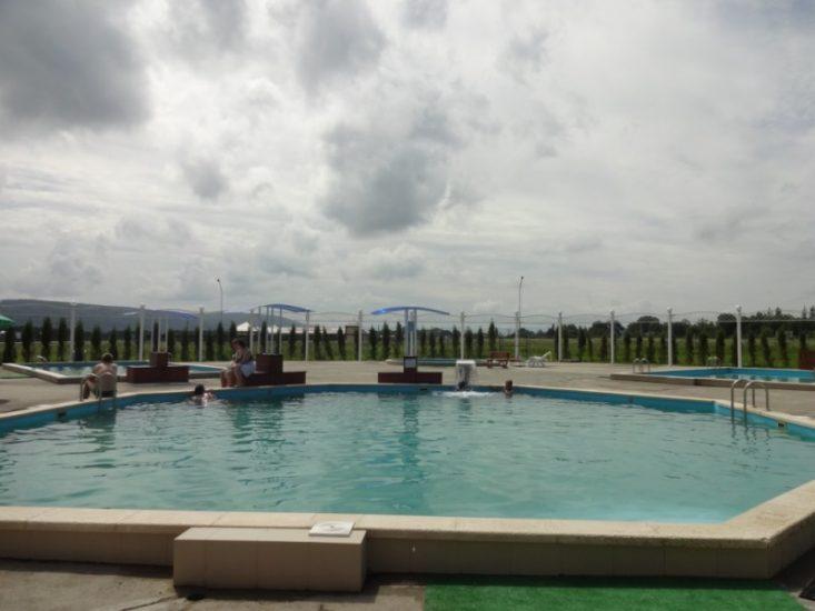 Посещение термальных источников в Адыгее