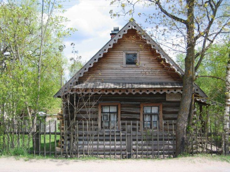 Домик няни А.С. Пушкина в Ленинградской области