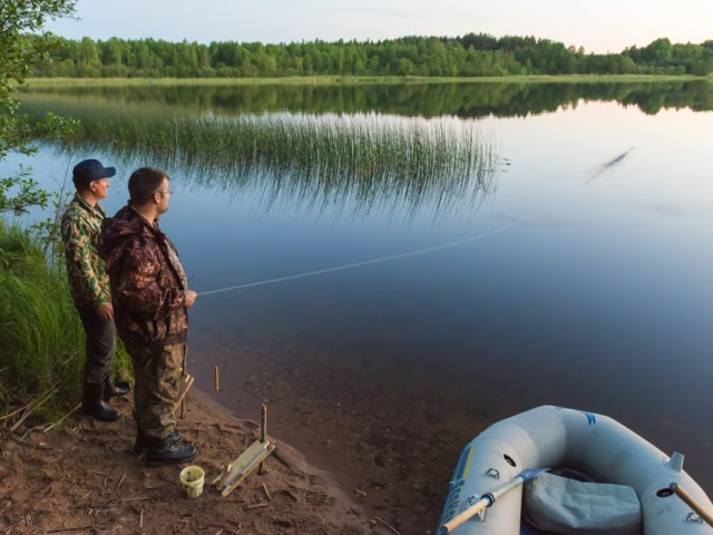 Рыбалка на Валдае летом