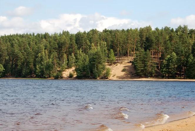 Озеро Красавица Ленинградская область