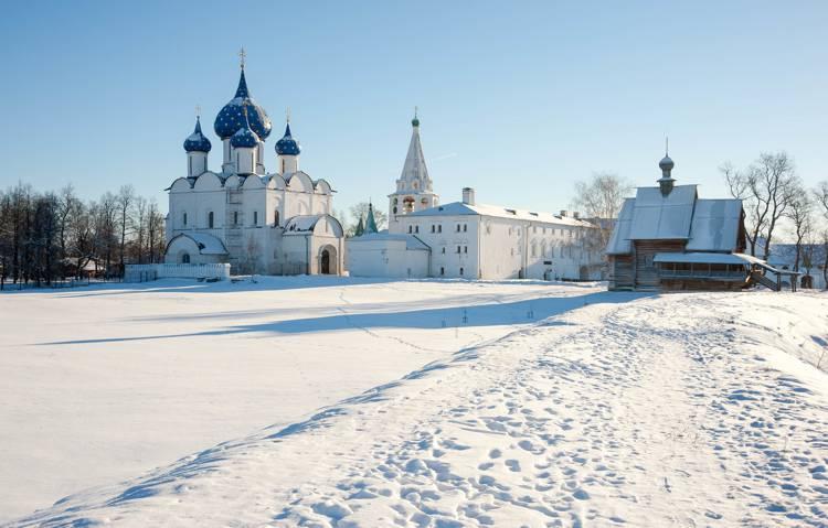 Отдых в Суздале зимой