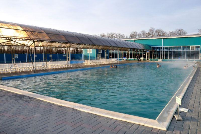 Термальный бассейн на базе отдыха
