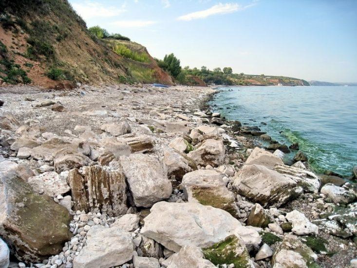 Пляж в Камском Устье