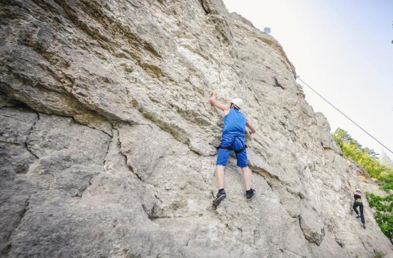 Скалы в Камском Устье