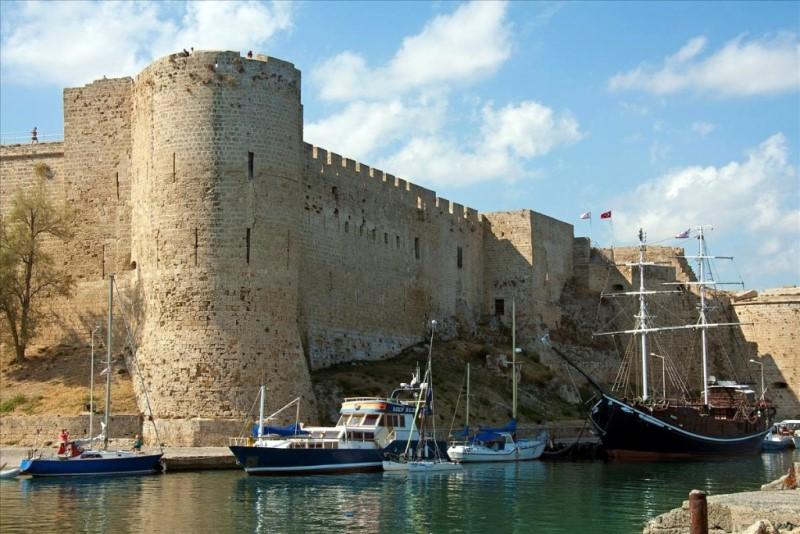 Киренийская крепость на Кипре