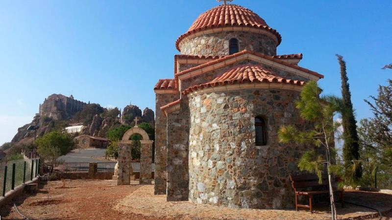 Монастырь Ставровуни на Кипре