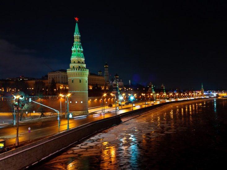 Романтическое путешествие по ночной Москве