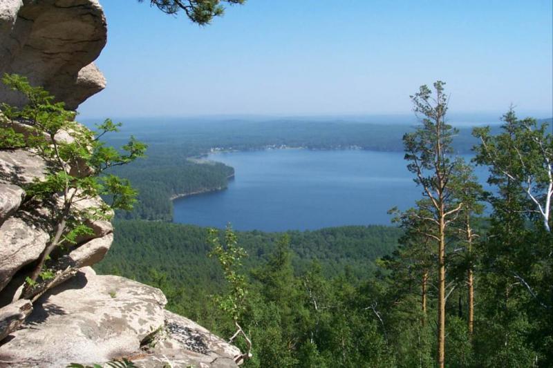 Озеро Аракуль на Урале