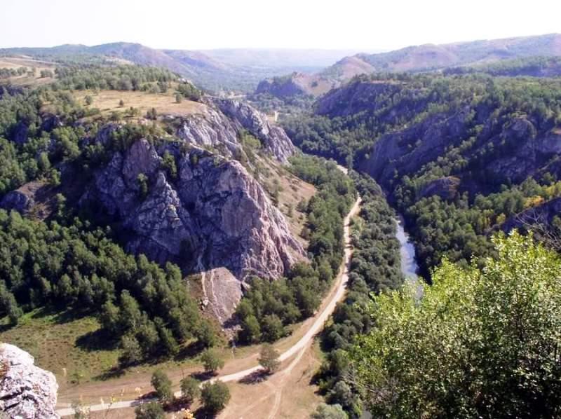 Гумеровское ущелье в Башкирии