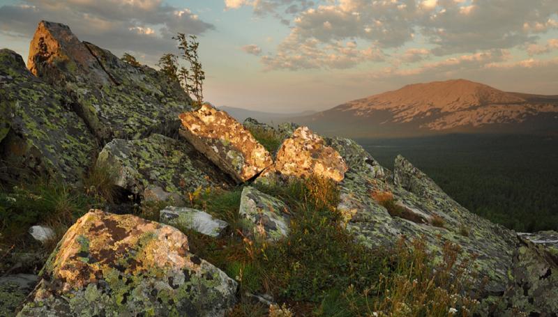 Гора Иремель в Башкортостане