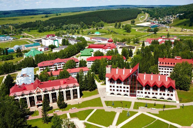 Красноусольский поселок в Башкирии