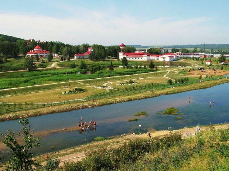 Красноусольский поселок в Башкортостане