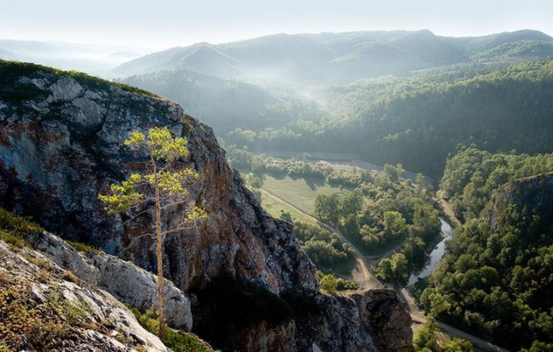 Мурадымовское ущелье в Башкирии