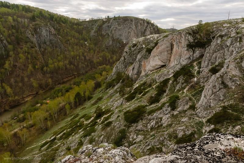 Мурадымовское ущелье в Башкортостане