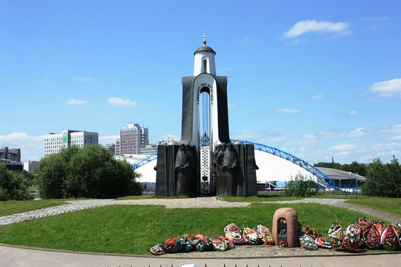 Остров Мужества и Печали в Минске