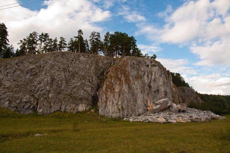 Пугачевский камень в Башкирии