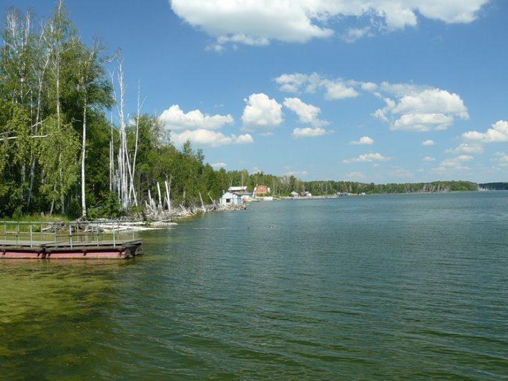 Озеро Сугояк на Урале