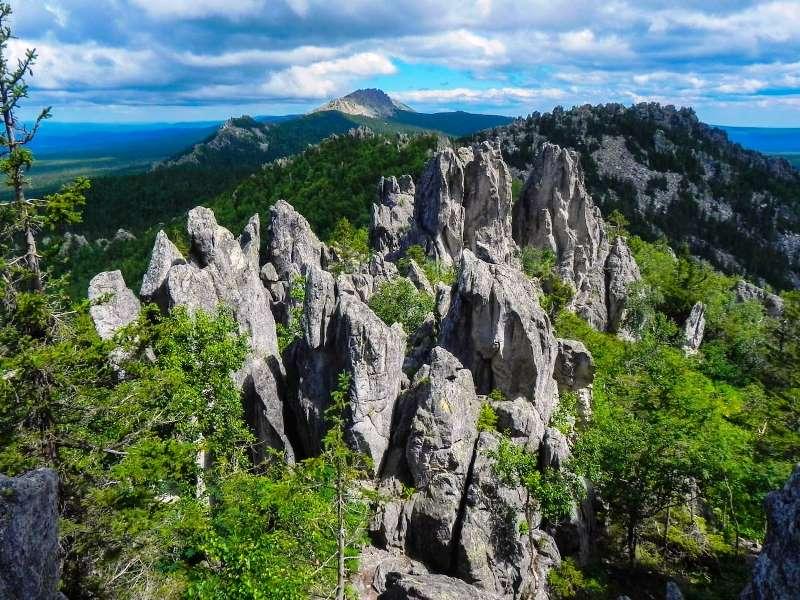 Национальный парк Таганай на Урале