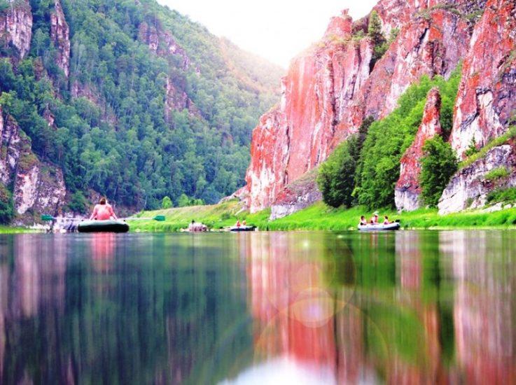Гора Янгантау в Башкортостане