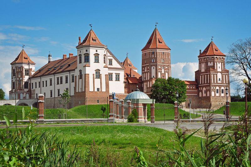 Замок Мир в Белоруссии