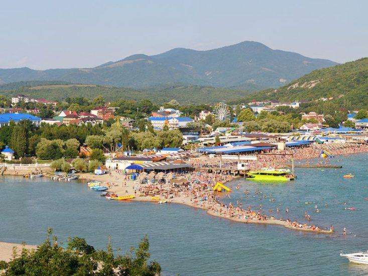 Поселок Архипо-Осиповка в Краснодарском крае