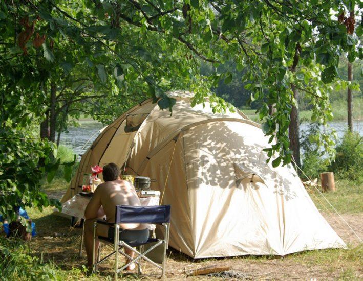Отдых с палаткой на Селигере