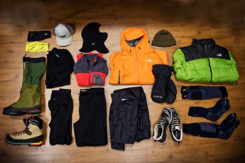 Какую одежду взять в поход