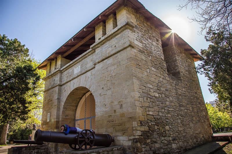 Крепость «Русские ворота» в Анапе