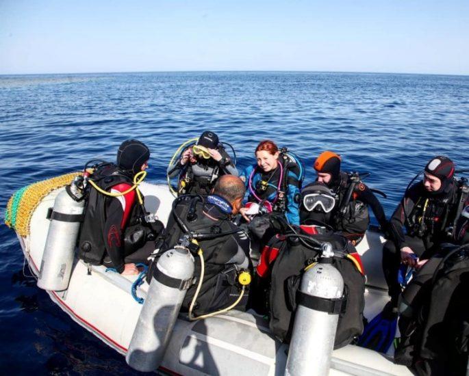 дайвинг-тур на Черном море от клуба «Морские ангелы»