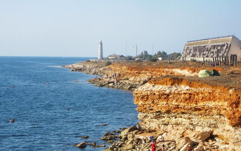 Мыс Херсонес, Черное море